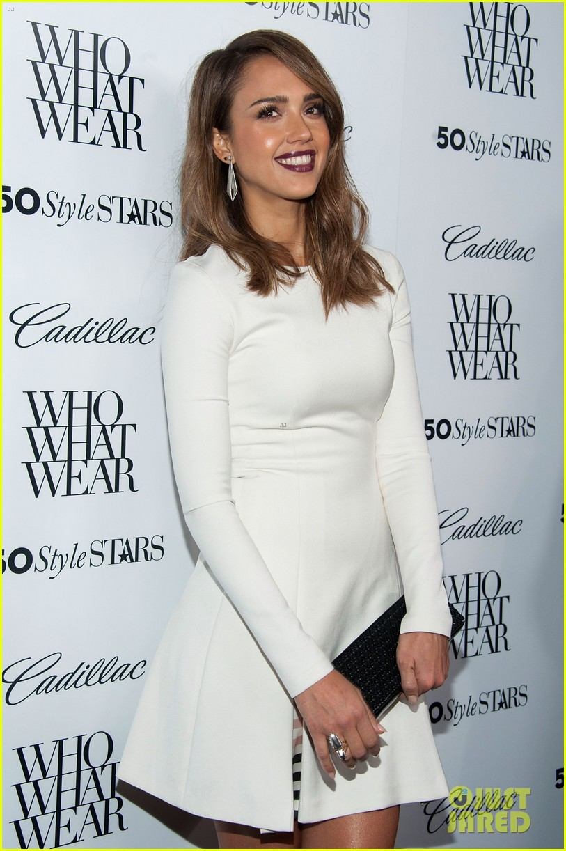 jessica alba nicole richie cadillacs 50 most fashionable women of 2013 112978967