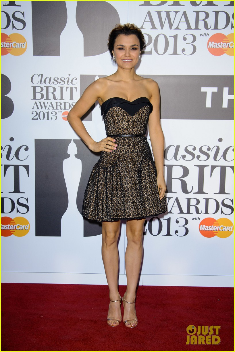 samantha barks celebrates birthday at classic brit awards 112964768