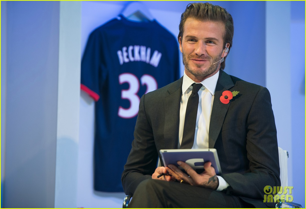 david beckham facebook global book signing 11