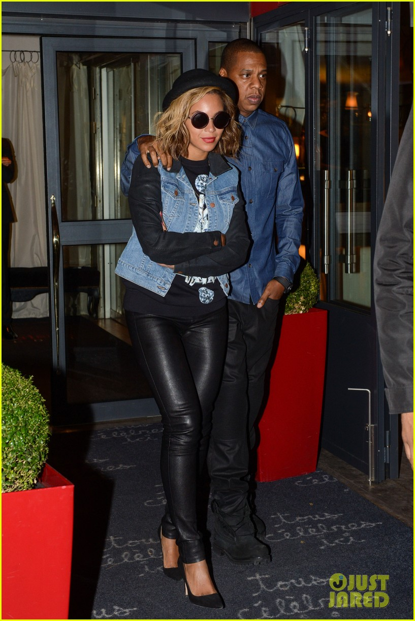 beyonce jay z dinner date in paris 052971593