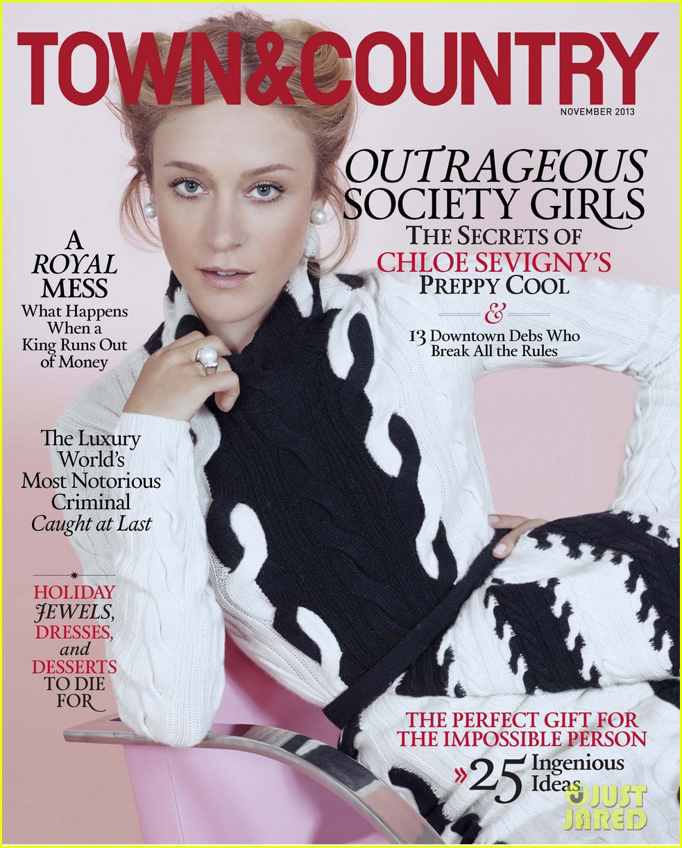 chloe sevigny covers town country november 2013 04