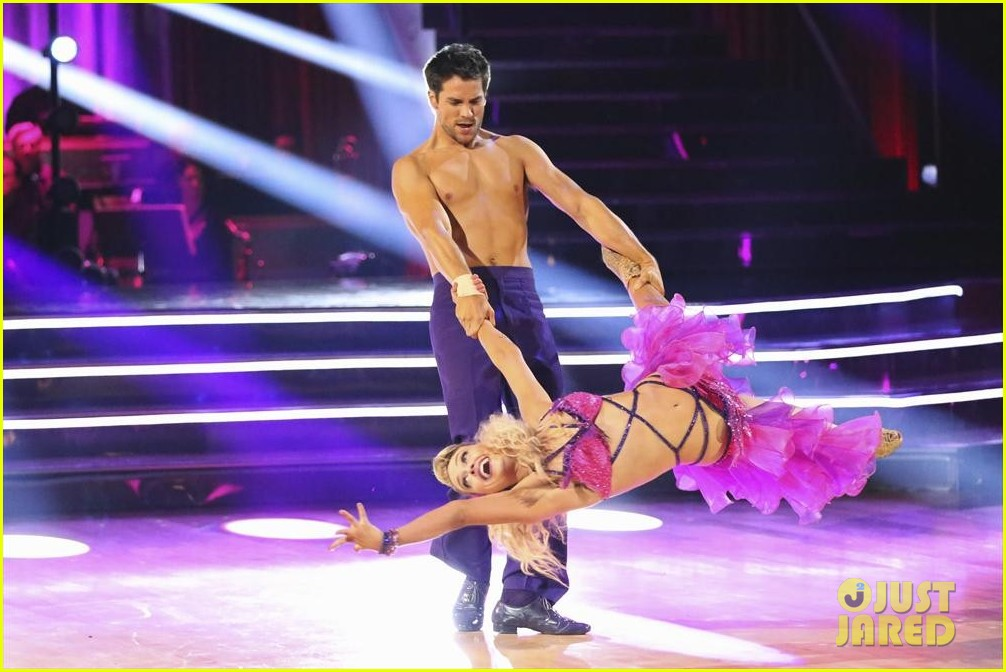 corbin bleu brant daugherty shirtless for dwts 122968485