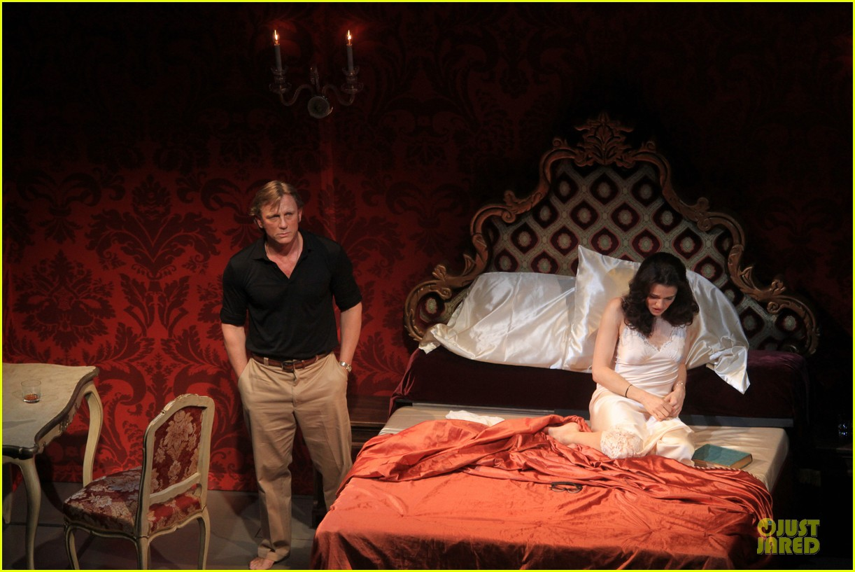 daniel craig rachel weisz betrayal first preview performance 07