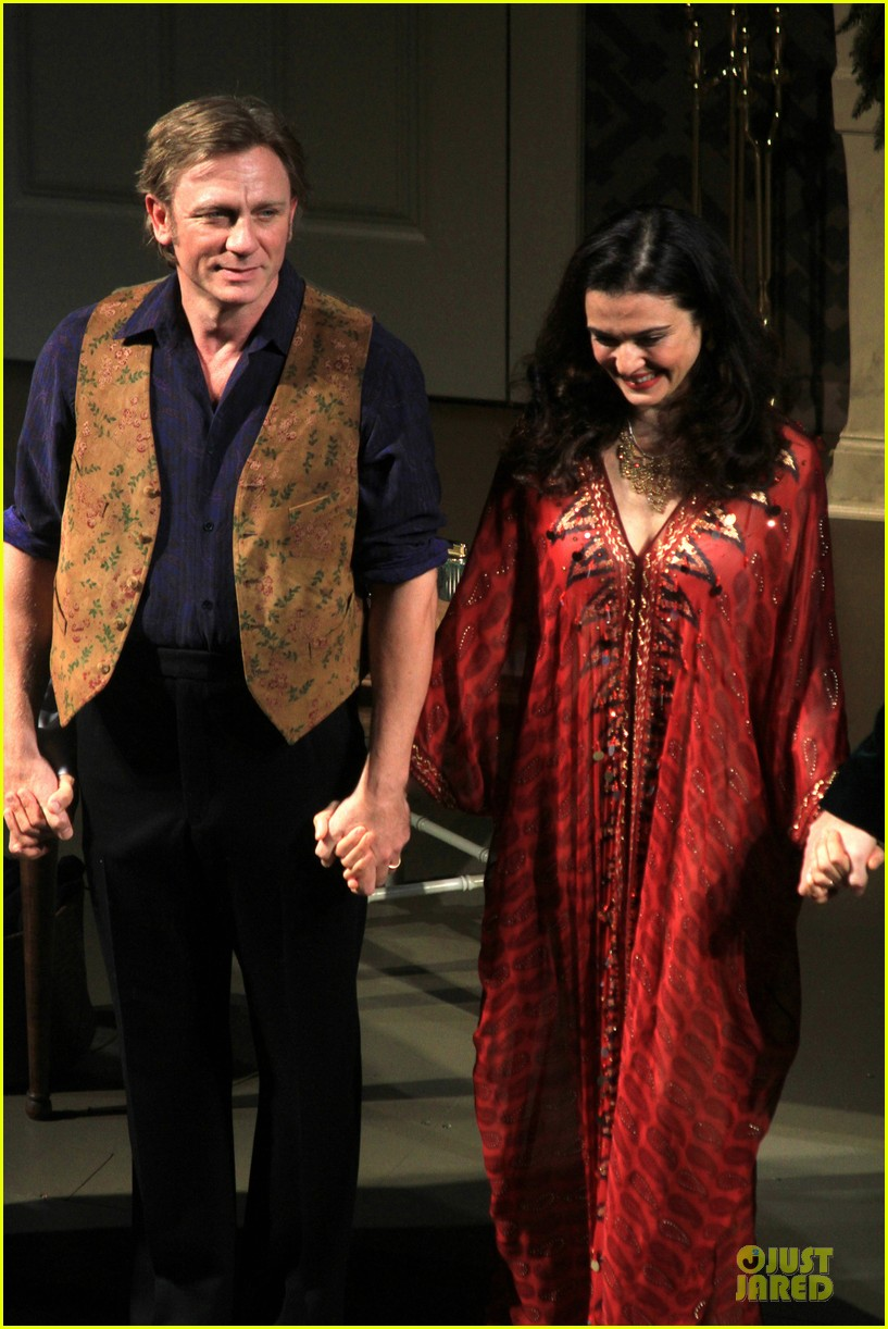 daniel craig rachel weisz betrayal first preview performance 122964246