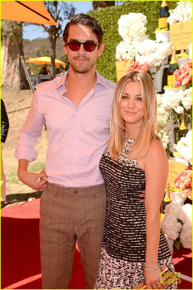 kaley cuoco ryan sweeting veuve clicquot polo classic kiss 13