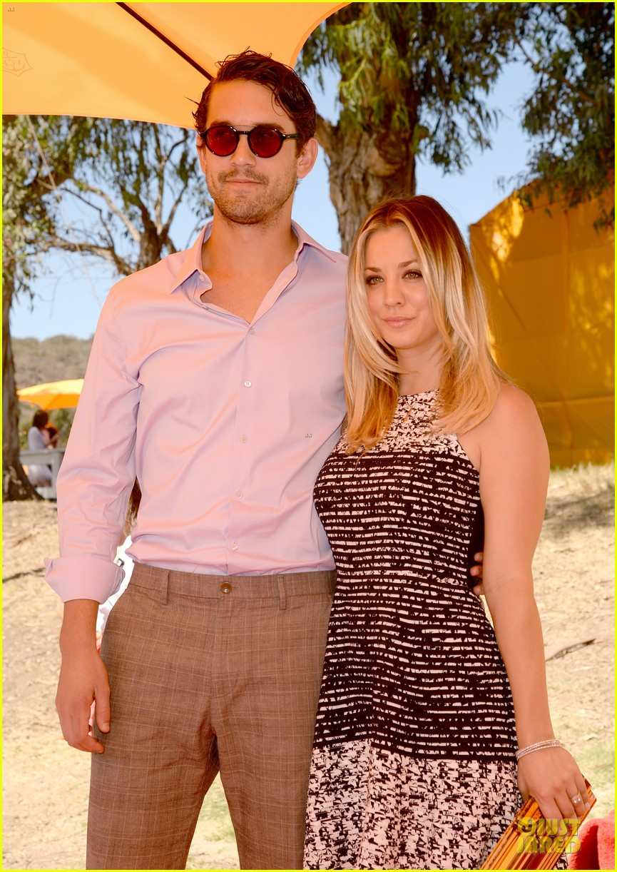 kaley cuoco ryan sweeting veuve clicquot polo classic kiss 202966913