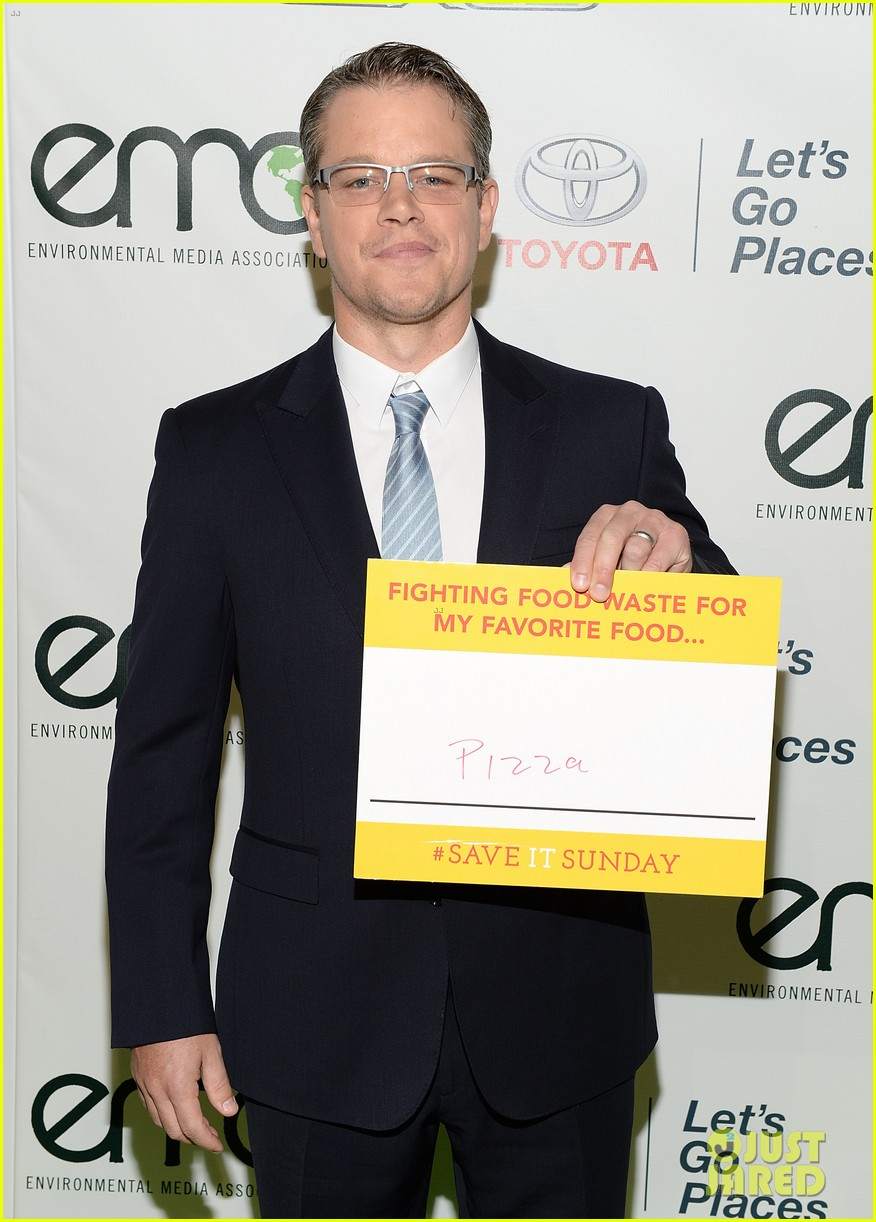 matt damon julie bowen environmental media awards 282975198
