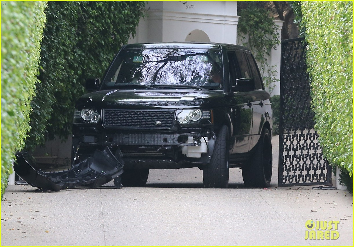 david beckham crashes car after weho workout 082980592