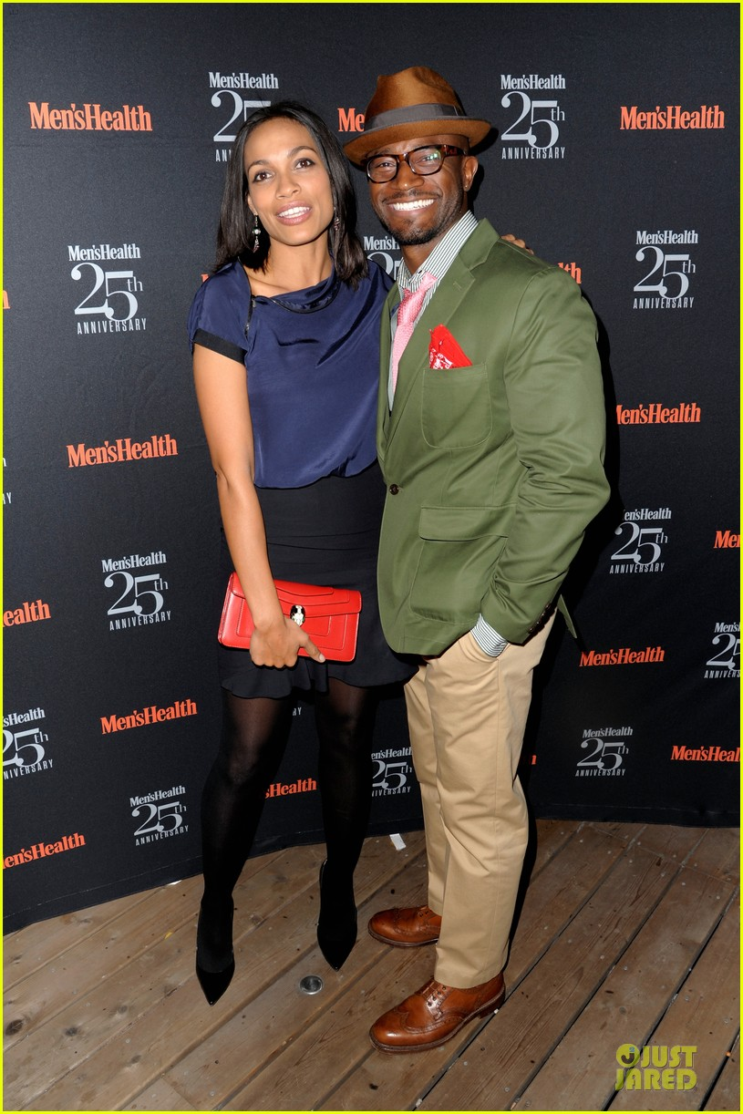rosario dawson taye diggs men health celebration 052969334