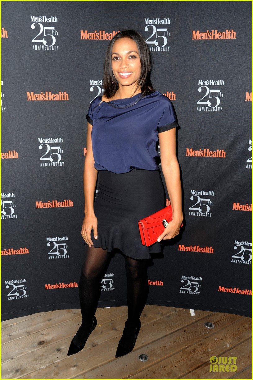 rosario dawson taye diggs men health celebration 142969343