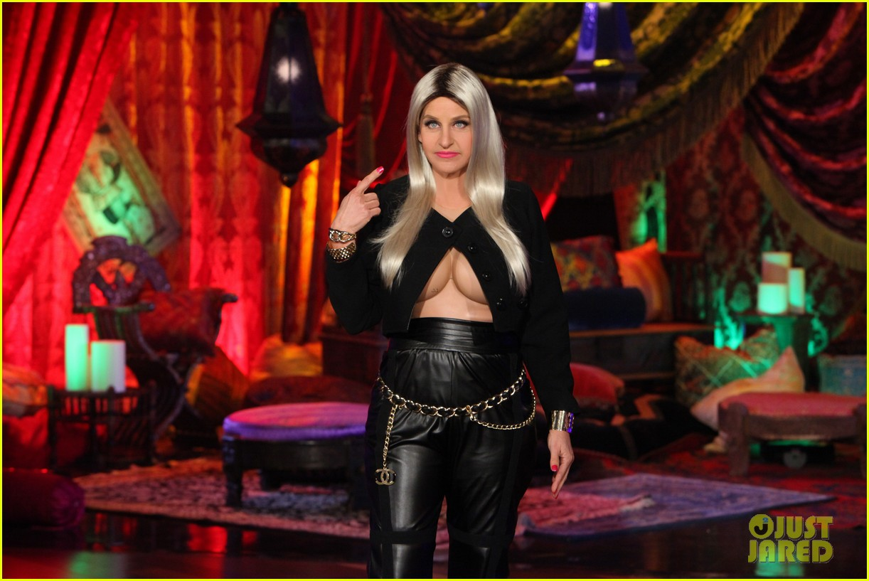 ellen degeneres nicki minaj costume for halloween 2013 02