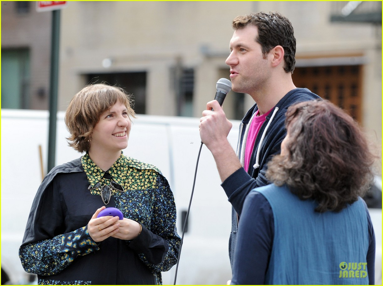 lena dunham milks a cow for billy on the street 17