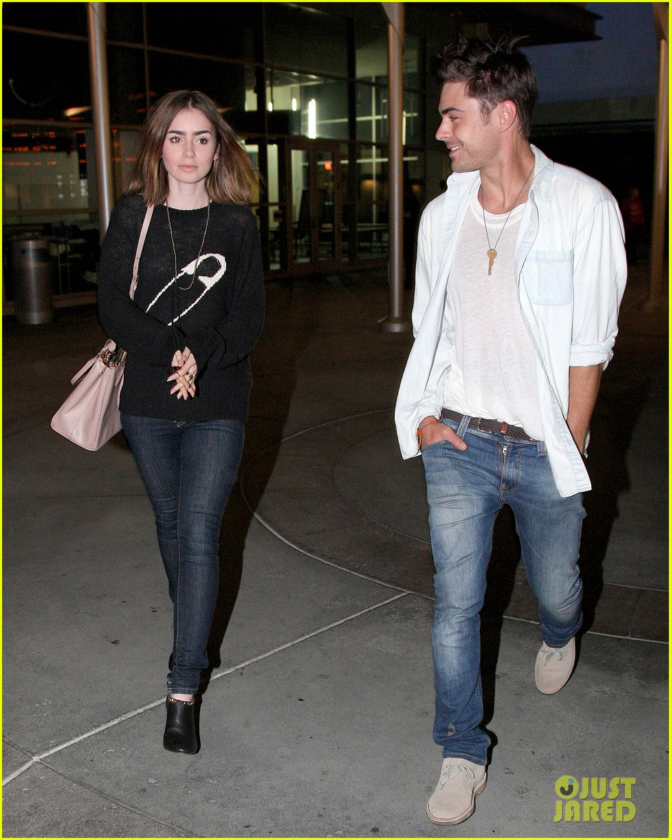 zac efron lily collins movie night out 17