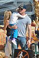 eric dane rebecca gayheart mr bones pumpkin patch visit 15