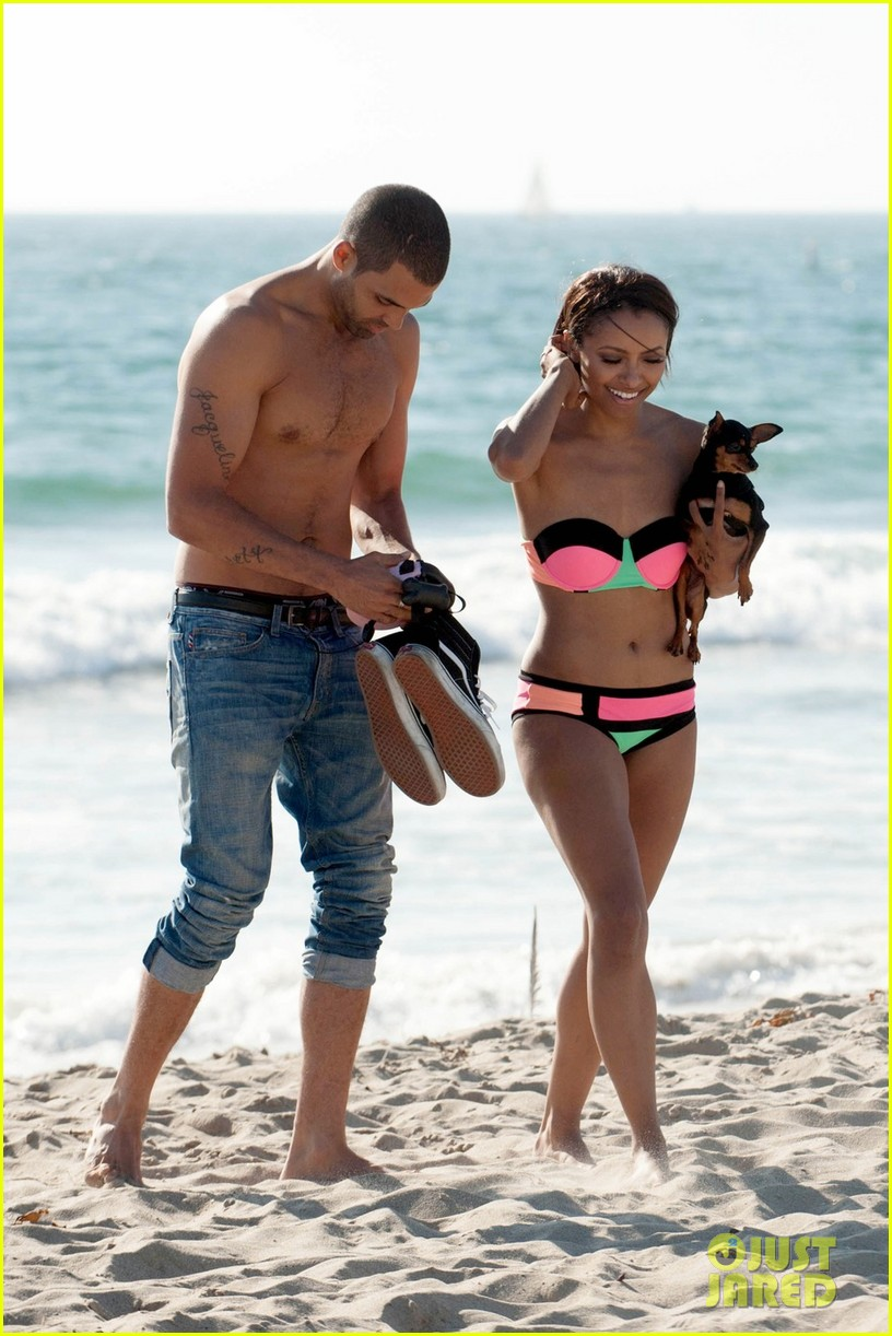 kat graham bikini kisses with cottrell guidy 01