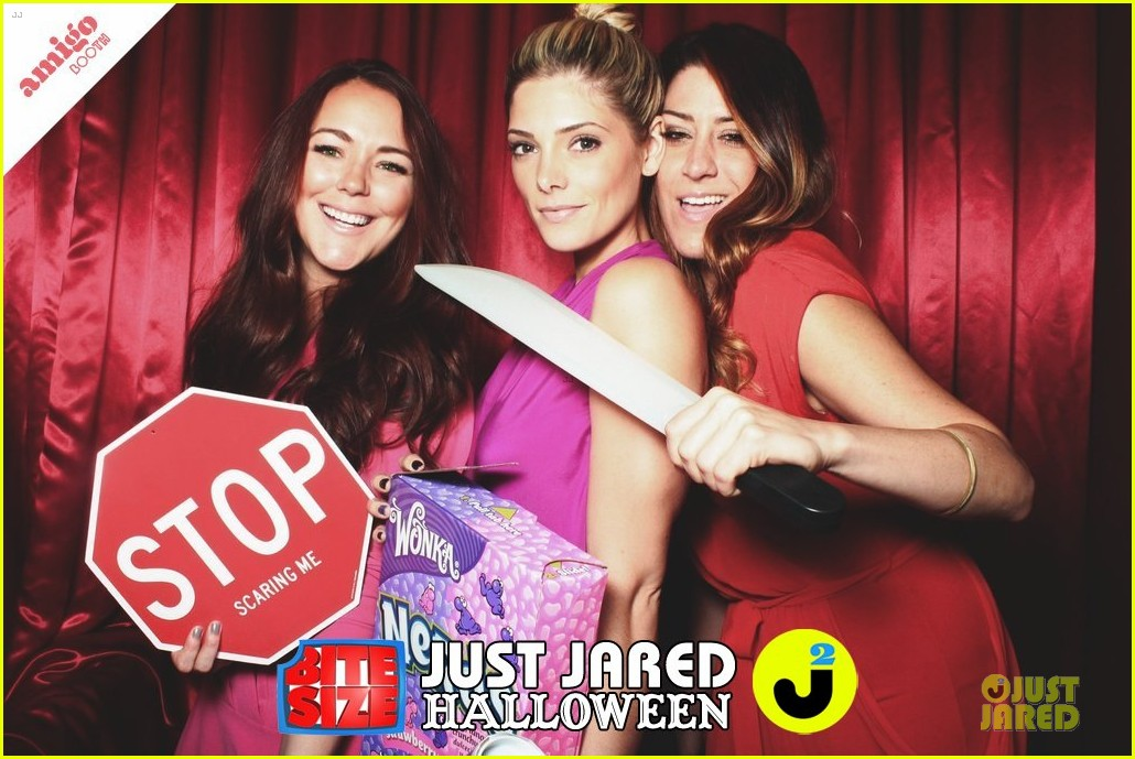 ashley greene just jared halloween party 2013 02