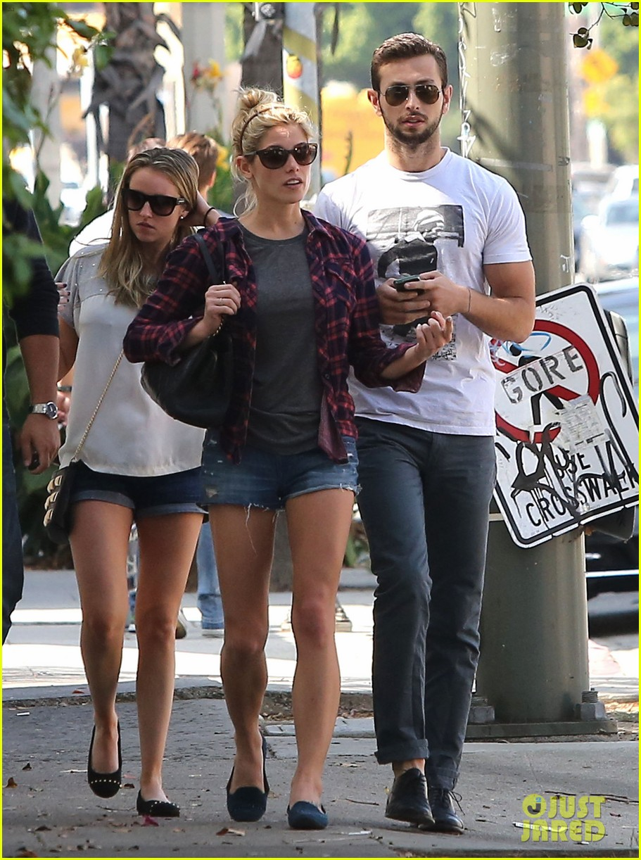 ashley greene paul khoury hang out with friends 062965412