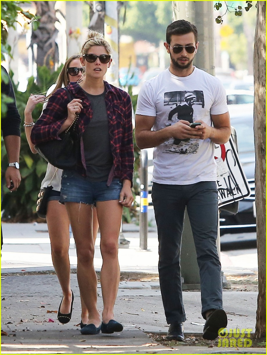 ashley greene paul khoury hang out with friends 10
