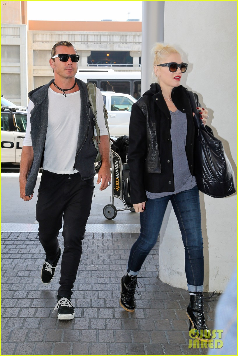 gwen stefani gavin rossdale fly out of los angeles 032975972