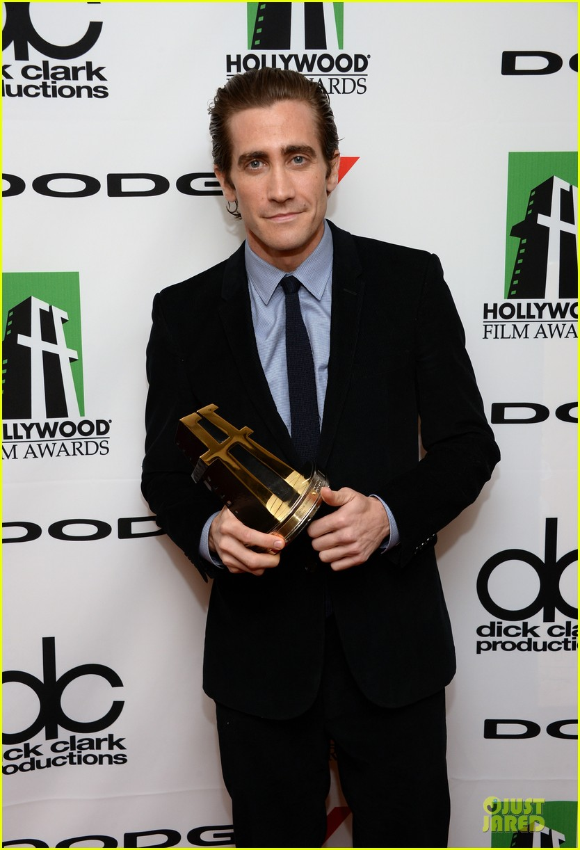 jake gyllenhaal michael b jordan hollywood film awards 2013 23