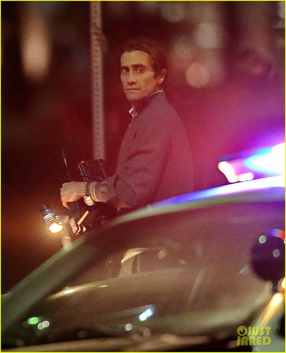 jake gyllenhaal overnight nightcrawler shoot 11