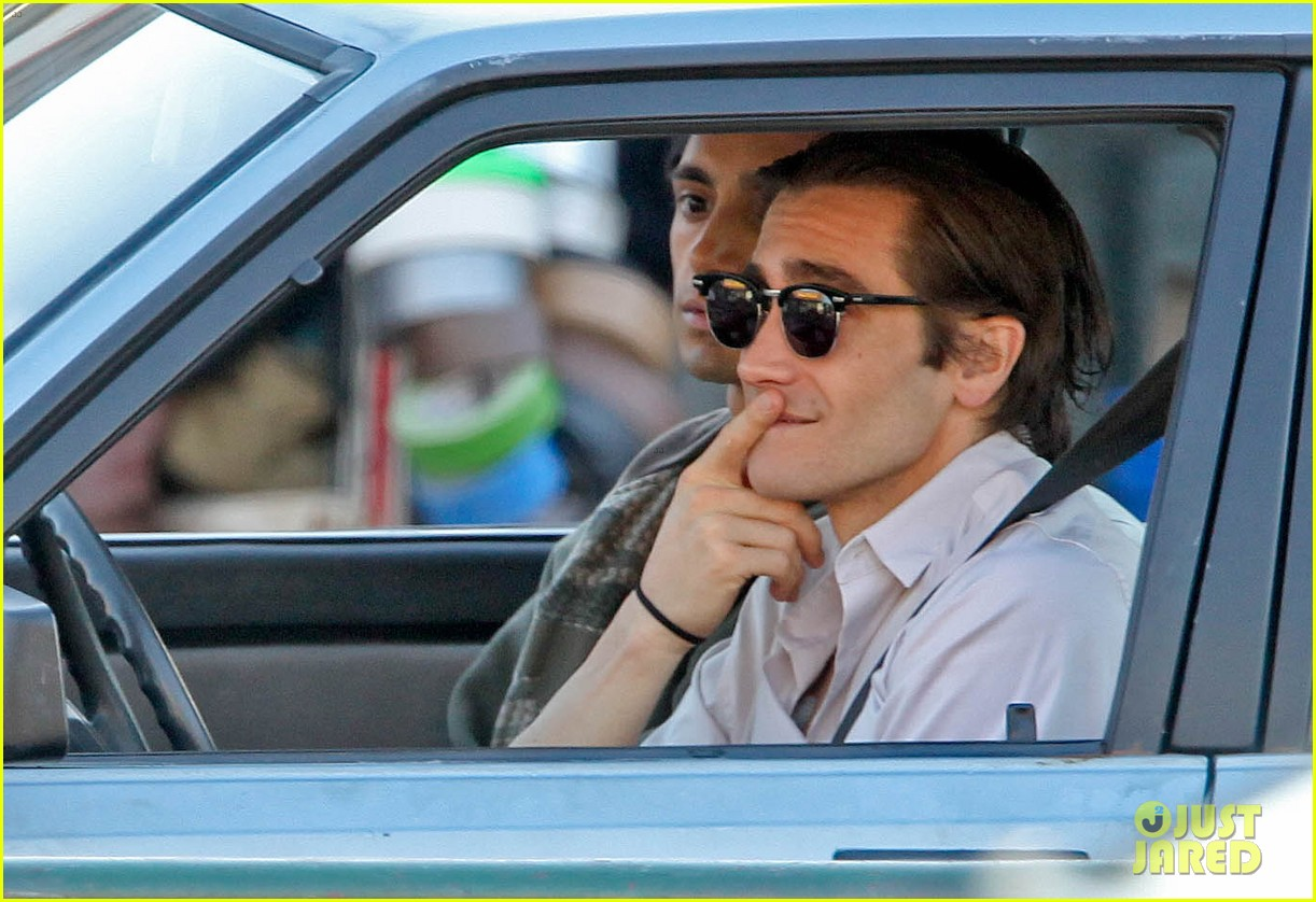 jake gyllenhaal overnight nightcrawler shoot 182976919