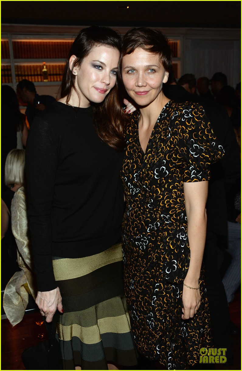 maggie gyllenhaal liv tyler the lunchbox fund fall fete 11