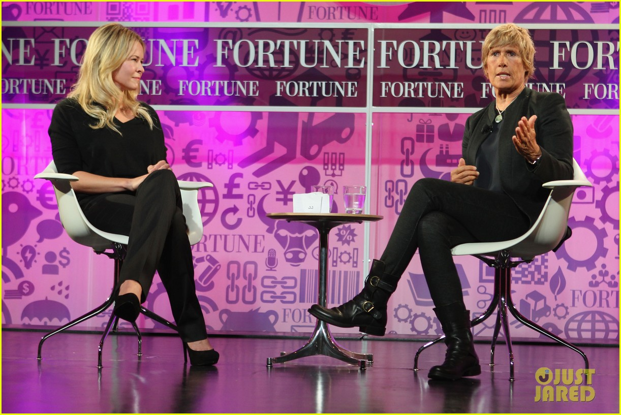 chelsea handler interviews diana nyad at fortune summit 06