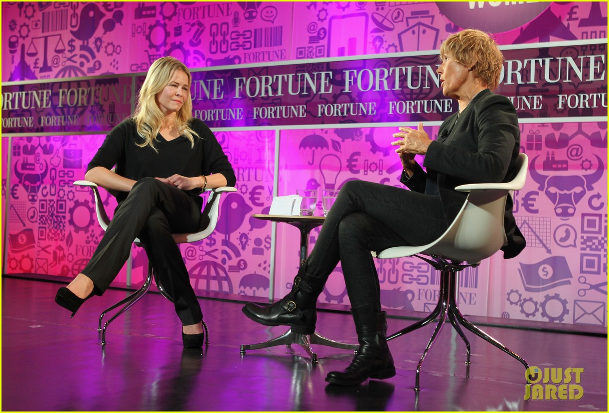 chelsea handler interviews diana nyad at fortune summit 102973257
