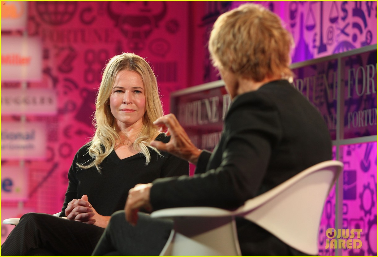 chelsea handler interviews diana nyad at fortune summit 112973258