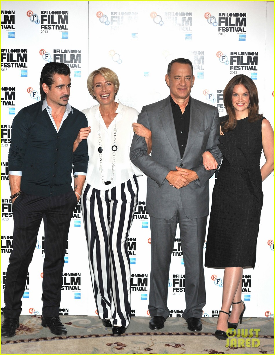 tom hanks colin farrell saving mr banks at bfi film fest 052975484