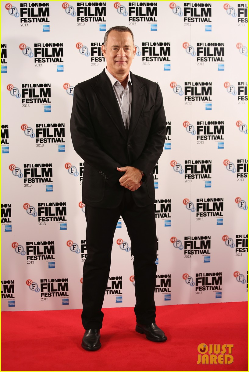 tom hanks captain phillips at the bfi film festival 07
