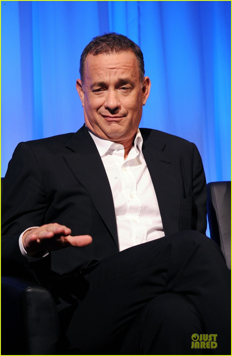 tom hanks we filmed close enough to see each others pores 142968183