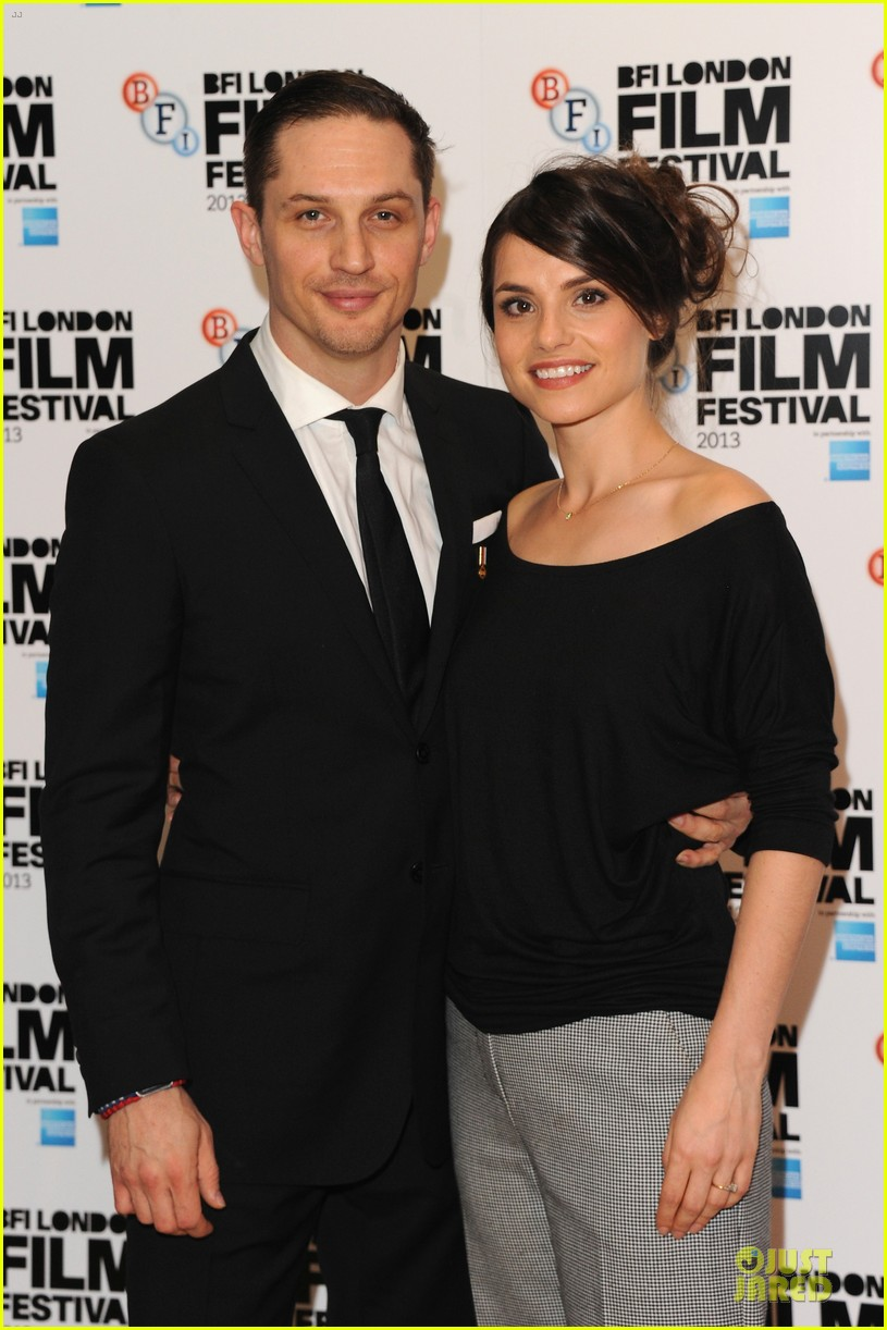 tom hardy charlotte riley locke bfi film fest screening 092974633