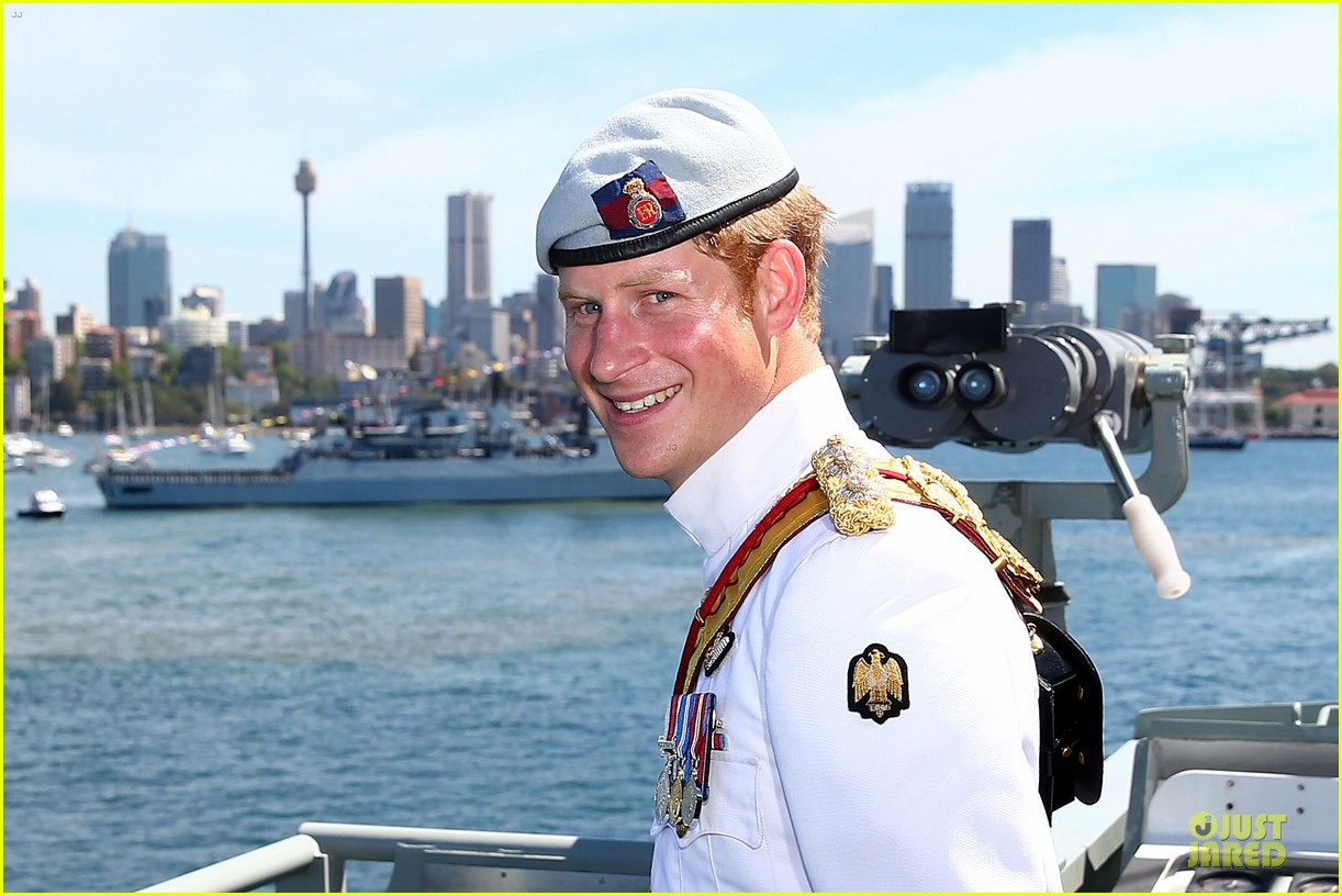 prince harry international fleet review in sydney 11