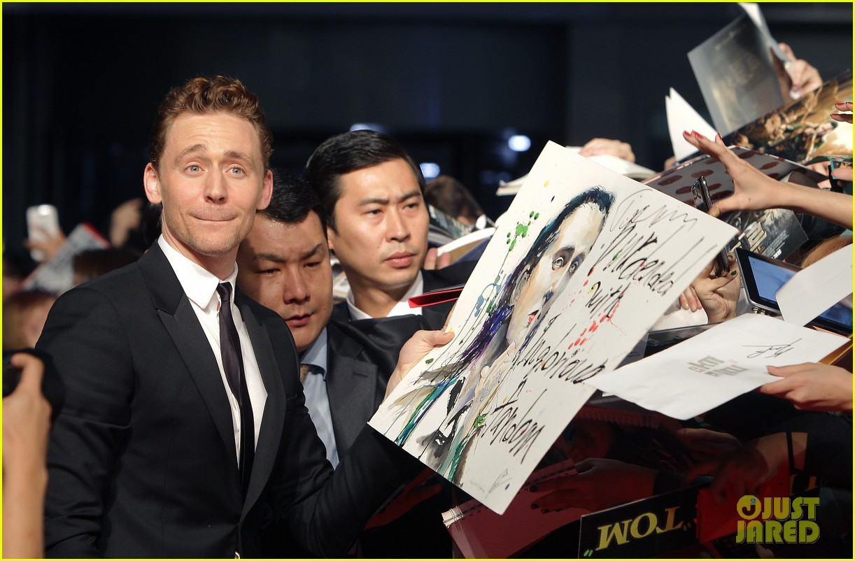 tom hiddleston thor the dark world south korea premiere 29
