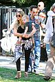 hilary duff mike comrie halloween party with luca 01