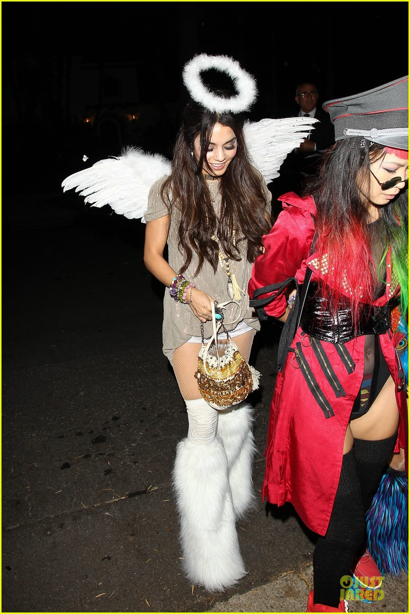 vanessa hudgens angel at casamigos halloween party 2013 01