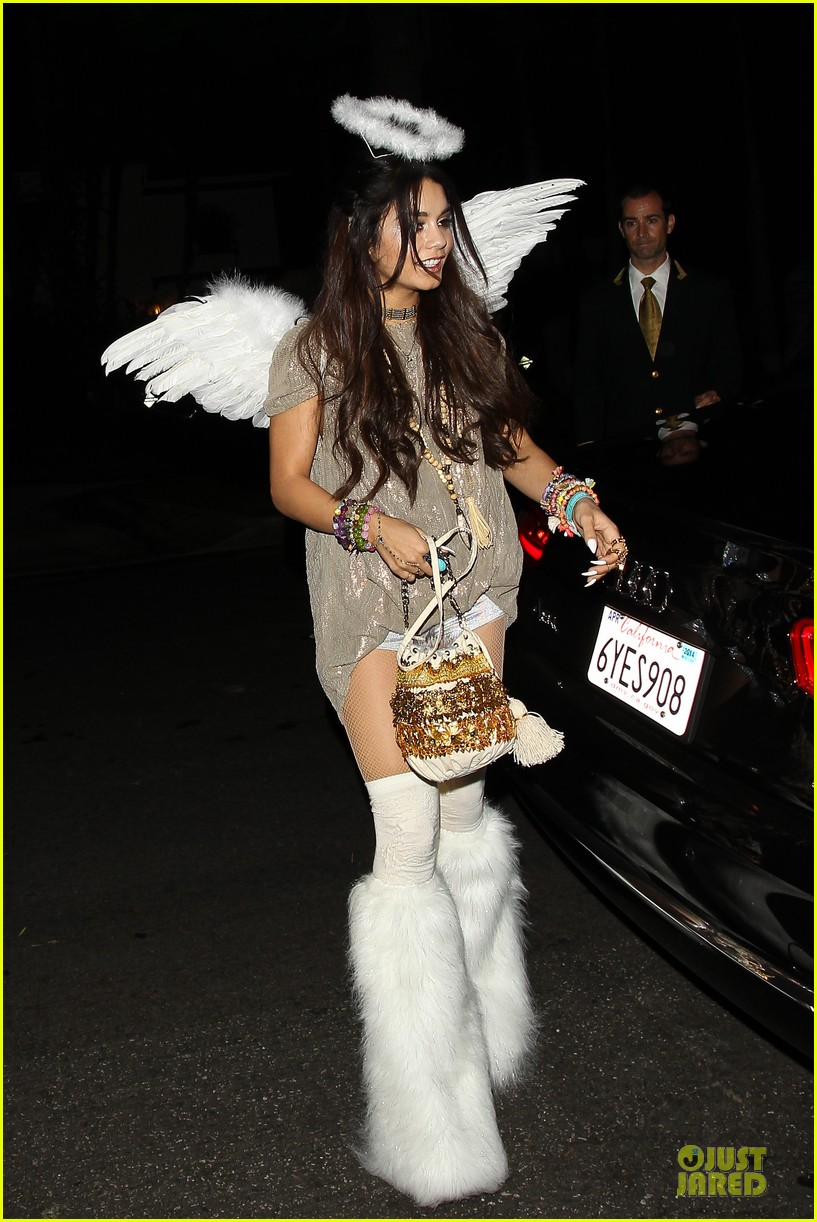 vanessa hudgens angel at casamigos halloween party 2013 04