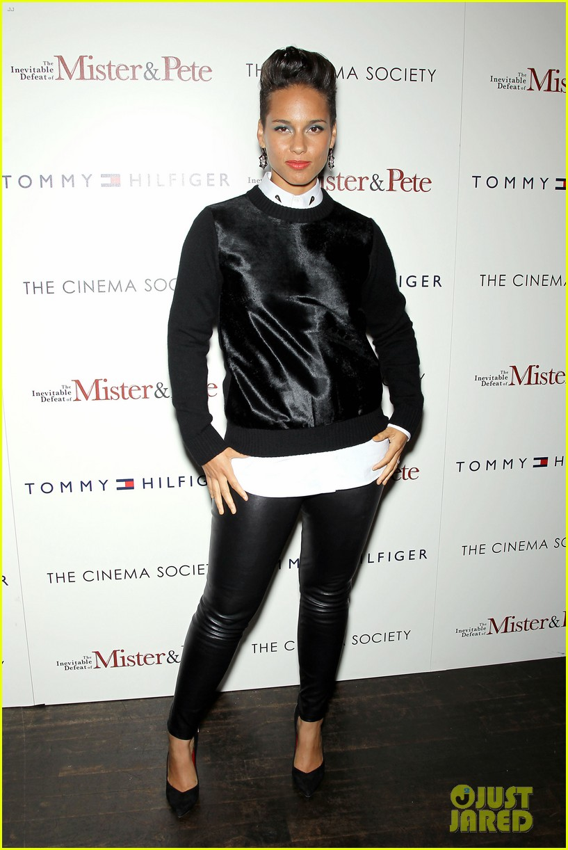 jennifer hudson alicia keys mister pete nyc screening 05