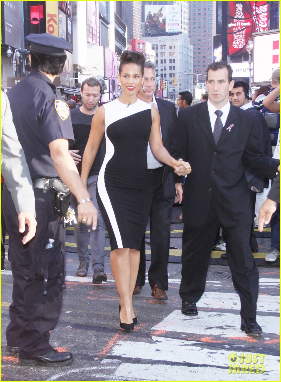 jennifer hudson alicia keys mister pete nyc screening 162964836