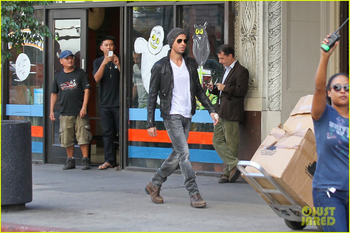 enrique iglesias films heart attack music video 222967623