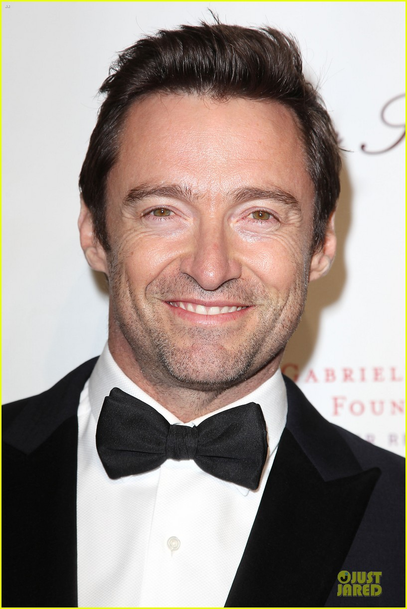 hugh jackman angel ball couple 302982642