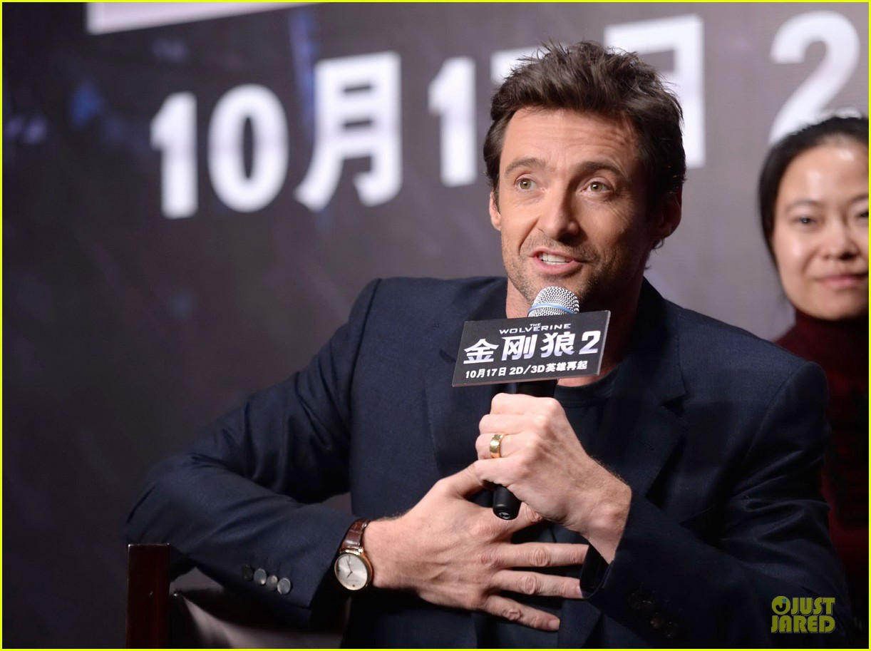 hugh jackman wolverine china press conference 042971998