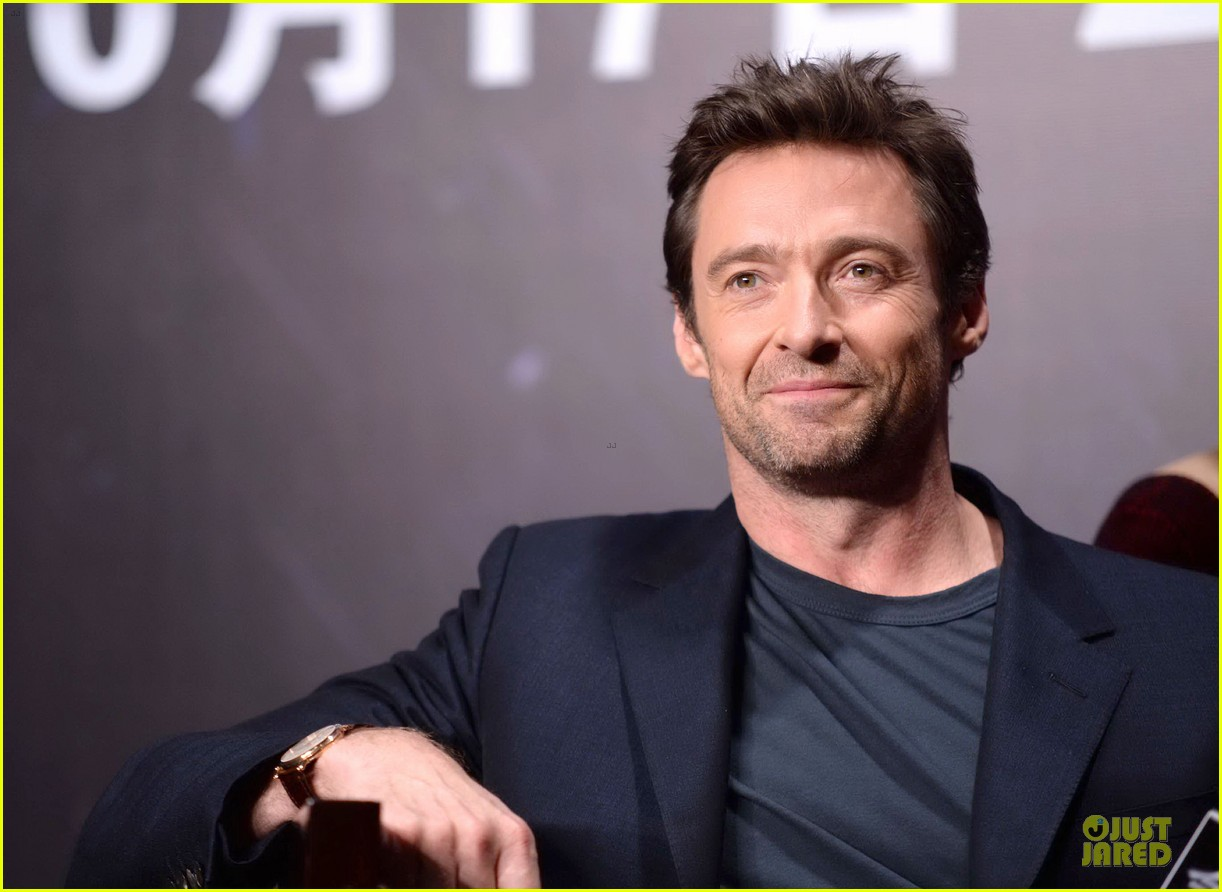 hugh jackman wolverine china press conference 202972014