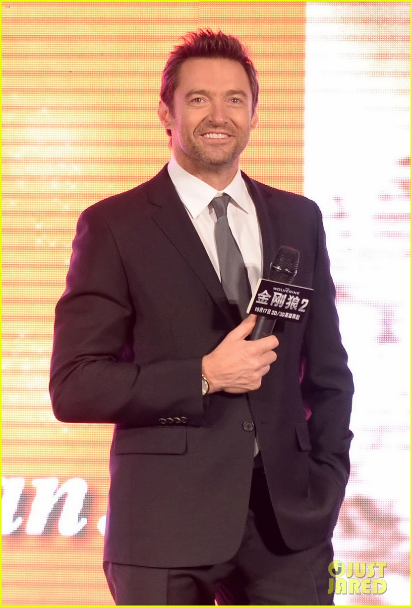hugh jackman premieres the wolverine in china 042972669