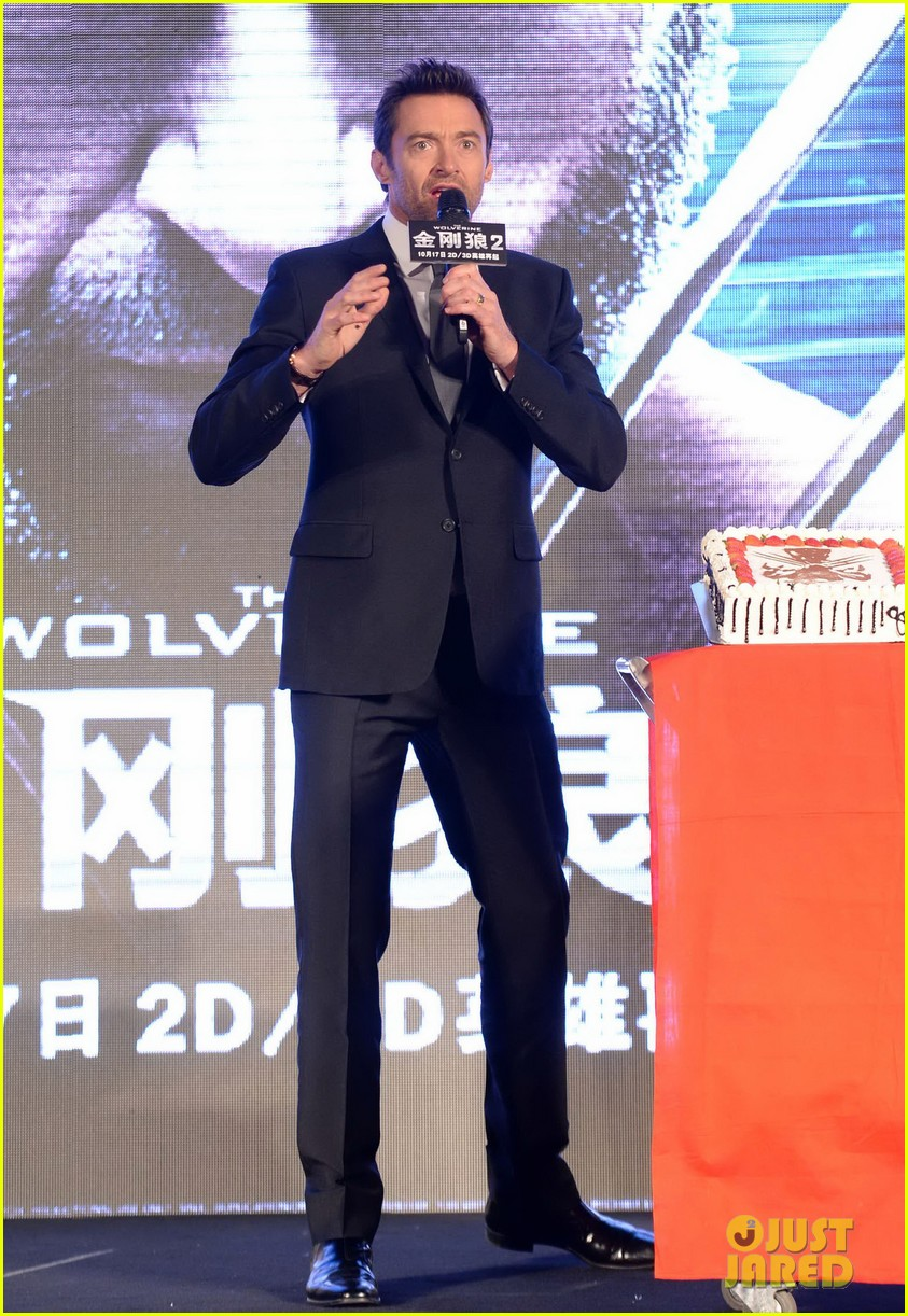 hugh jackman premieres the wolverine in china 052972670