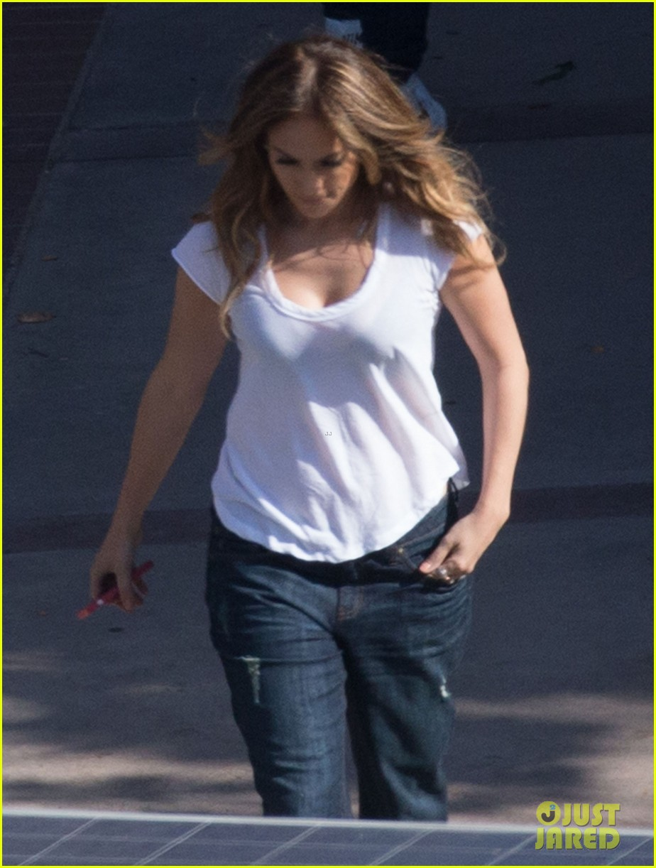 jennifer lopez goes to work casper smart goes for a drive 12