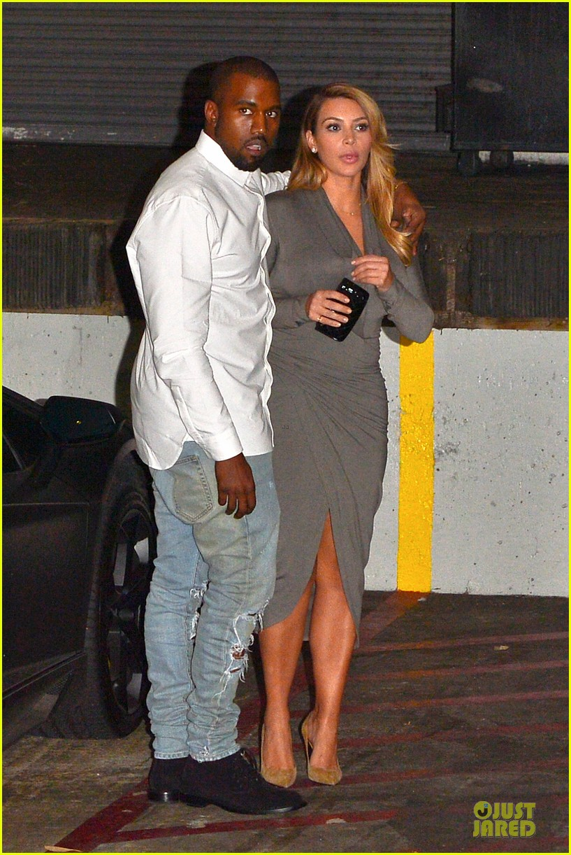 kim kardashian kanye west la opera date night 10