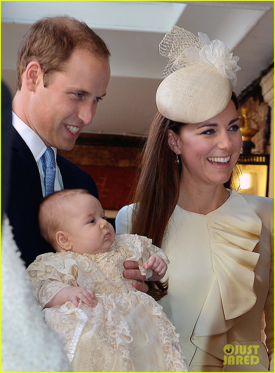 kate middleton prince william prince georges christening see all the pics 15